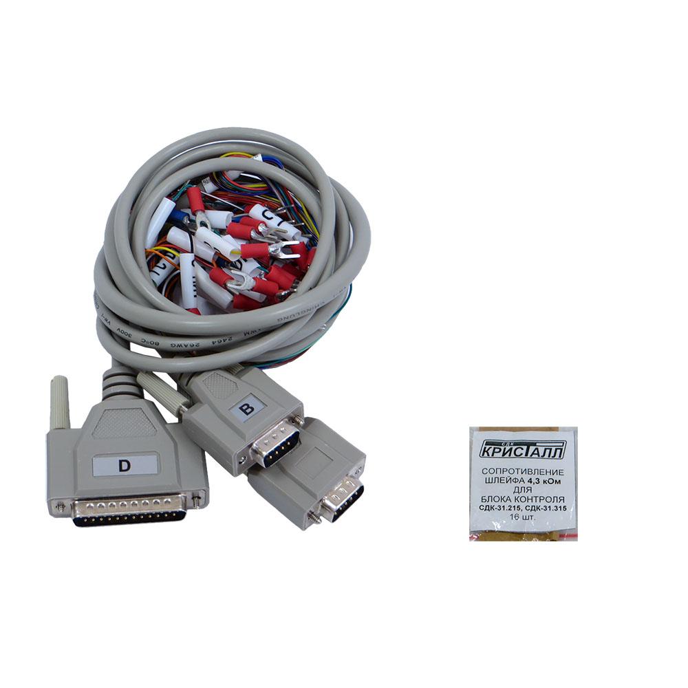 Кабели, резисторы для СДК-31.x15